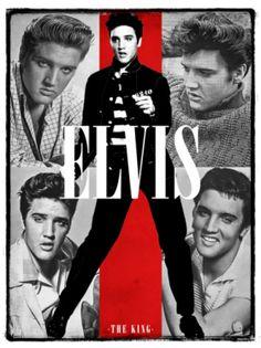 Elvis Presley The King Of Rock N Roll
