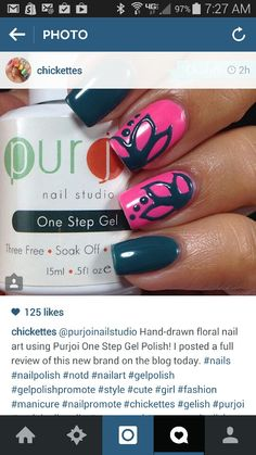 Check out this Purjoi Nail Studio product review from the amazing and talented Andrea at @chickettes on Instagram or her website at http://www.chickettes.com