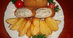Mennyei Karajba göngyölt velő rántva recept! A gyerekek nagyon szeretik nálunk ezt a fogást. Camembert Cheese, French Toast, Keto, Cooking, Breakfast, Foods, Kitchen, Morning Coffee, Food Food