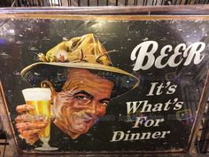 Beer - It's What's For Dinner