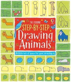 For 4 yrs up, Step-by-Step Drawing Animals.  This book helps kids to draw basic animals. Great to build confidence of new drawing skill.  https://n4955.myubam.com/p/4518/step-by-step-drawing-animals