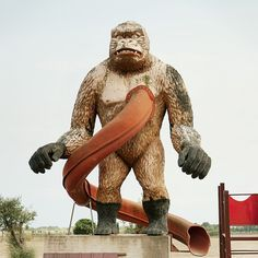King Kong slide-of-death. By Roc Canals.