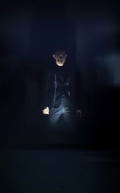 Daily EXO _ Kyungsoo - This is a stage lighting win if I ever saw one.