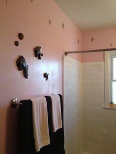 Rockabilly Badezimmer | Pink Bathtub Red Pink Bathtubs Pinterest Pink