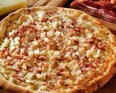 Pizza a la carbonara