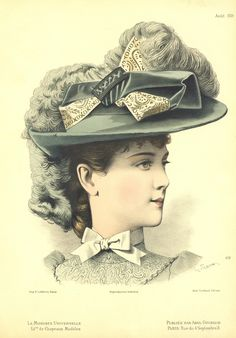 French Fashion, Vintage Fashion, 1900 Clothing, Decades Fashion, Victorian Hats, Vintage Ladies, Vintage Hats, 20th Century Fashion, Wedding Hats
