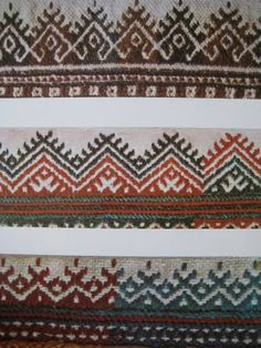 Croatian folklore embroidery patterns