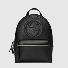 Gucci Soho leather chain backpack