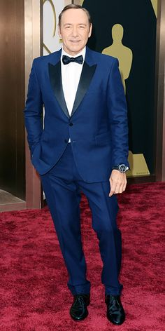Oscars 2014 Red Carpet Arrivals - Kevin Spacey from #InStyle