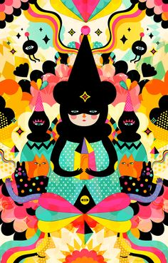 We are magical by Muxxi, via Behance