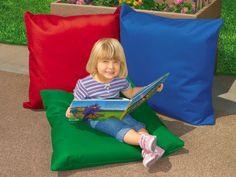 #LakeshoreDreamClassroom    Indoor-Outdoor Big Pillows - Set of 3