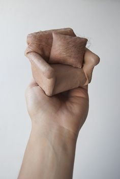 Freaky Sculptures made from 'Human Skin' by Jessica Harrison