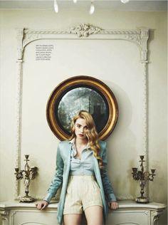 Freya Mavor for InStyle UK