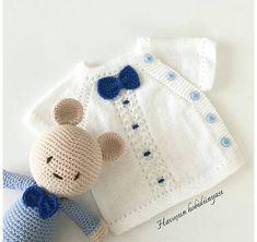 Embroidered Baby Vest Making - Knitting Crochet Baby Dress Pattern, Baby Dress Patterns, Baby Knitting Patterns, Knitting Designs, Crochet Patterns, Knitted Baby Cardigan, Knitted Baby Clothes, Knitting For Kids, Crochet For Kids
