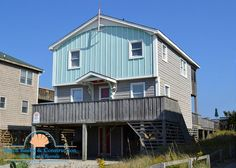 Jolly Roger 64 MP6.5 Kitty Hawk NC|  Outer Banks 4 Bedrooms: 3 w/King, 1 w/2 Pyramid Bunks. Sheets Provided. $4030.82 all in week 6/27 or 7/4