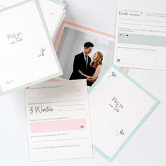 Familie, gute Freunde, alte Bekannte und Kollegen nehmen sich die Zeit, um eure Hochzeit mit euch zu feiern. Meist hat jeder von ihnen Lebensweisheiten und mindestens einen gut gemeinten Tipp für eine gute Ehe parat. Diese Box...