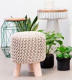 Piezas top de tendencia:Taburetes de crochet, muebles metálicos, formas…