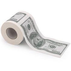Money Toilet Paper   Stupid.com