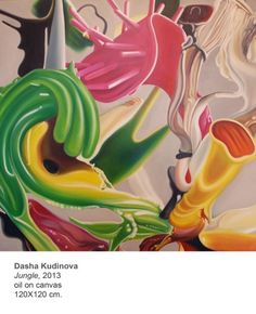oil on canvas, amazing work by Dasha Kudinova