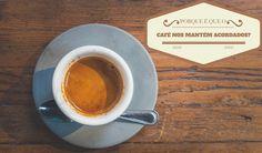 """O #café é utilizado em época de #exames e em ocasiões em que se quer """"fugir"""" ao sono, mas será que sabe os motivos que fazem com que este o mantenha acordado?"""