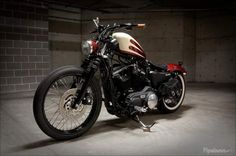 Bobber Inspiration - Harley Iron 883 Sportster | Bobbers and Custom Motorcycles | sportsterarmy September 2015