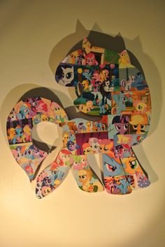 My Little Pony Wall Plaque. $45.00, via Etsy.