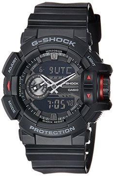 98a27863683d Casio G-Shock GA-400-1B Multi-Dimensional Analog Digital Watch Casio