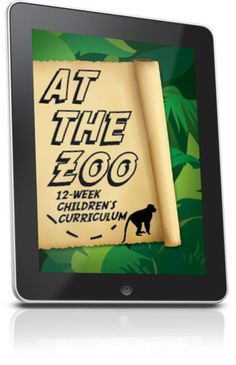 Free Children's Ministry Lesson that teaches kids Bible lessons based on their favorite Zoo animals.  This lesson is from the At The Zoo 12-Week Children's Ministry Curriculum.