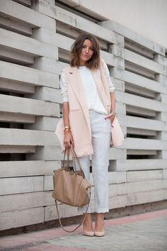 We are loving this mix of neutral colors.