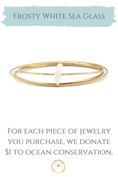 Dainty gold sea glass bracelet made with authentic sea glass from Panama. Bracelet Making, Jewelry Making, Dainty Gold Jewelry, Sea Glass Jewelry, 14 Karat Gold, Jewelry Shop, Panama, Bangle Bracelets, Fashion Accessories