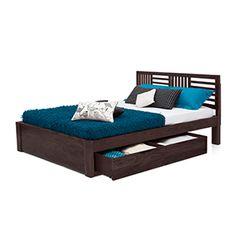 CHANTILLY STORAGE BED (MAHOGANY FINISH)