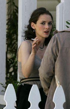 Celebrity smoking fetish