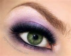 Love purple for green eyes