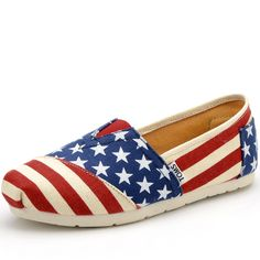 American flag Toms!