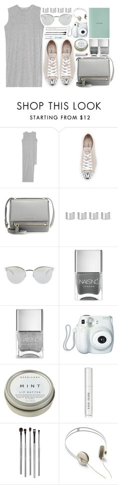 """Untitled #3557"" by monmondefou ❤ liked on Polyvore featuring Acne Studios, Miu Miu, Givenchy, Maison Margiela, Fendi, Nails Inc., Fuji, CB2, Bobbi Brown Cosmetics and esum"