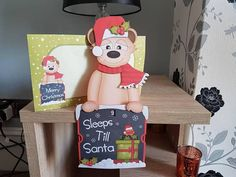 Check out this item in my Etsy shop https://www.etsy.com/uk/listing/528504798/meerkat-in-red-christmas-advent-card