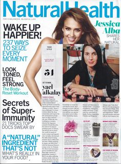 read red flower pioneer, yael alkalay's latest interview in this month's Natural Health Magazine and be inspired by her secret go-to ingredient and her favorite scent of the moment, wanderlust.