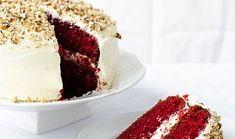"""Valentýnský dort """"červený samet"""""""