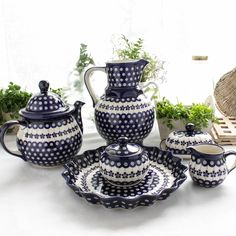 Polish Pottery from Boleslawiec. Available from www.thechouchou.co.uk