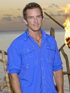 Jeff's dimples need their own show - Survivor - CBS. Makes the show.