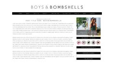 Blog Design - Smitten Blog Designs