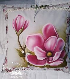 Easy Watercolor, Watercolor Paintings, Fabric Paint Designs, Flower Sketches, Color Magic, Acrylic Painting Techniques, Pallet Art, China Painting, Fabric Painting