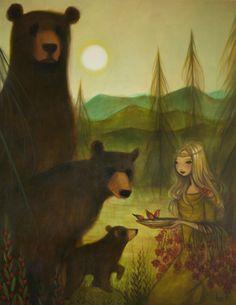 Three Bears by Krista Huot
