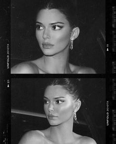 Find images and videos about photography, beauty and black and white on We Heart It - the app to get lost in what you love. Kendall Jenner Outfits, Cejas Kendall Jenner, Maquillage Kendall Jenner, Kendall Jenner Eyebrows, Kendall Jenner Instagram, Kendall Jenner Tumblr, Kendall Jenner Piercings, Kendall Jenner Selfie, Kendall Jenner Wallpaper