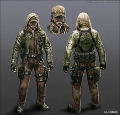 Character Concept - 02 by ~randis on deviantART