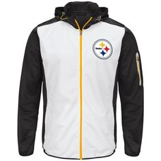 Picture of Pittsburgh Steelers GIII Composition Hooded Jacket Steelers  Stuff fd4bd257a