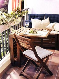 Balkon // Holz / gem