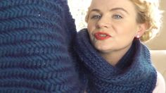 HERRINGBONE STITCH SCARF -  Part 1 of 3 video knitting projects by The C...