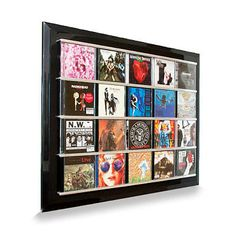 CD Display Frame - Displaying Your Music As Art | DadShop.com.au