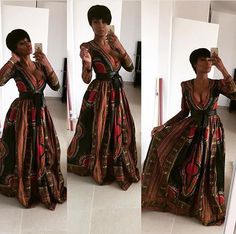Dashiki Prom Dress, African Clothing, African Fashion, African Party Dress, Dashiki Maxi Dress - Women's style: Patterns of sustainability African Party Dresses, African Wedding Dress, African Print Dresses, African Fashion Dresses, African Prints, Ankara Fashion, African Fabric, African Dresses For Women, Fashion Outfits